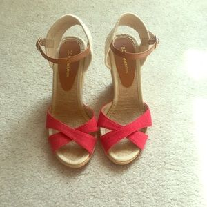 BCBG wedge heel